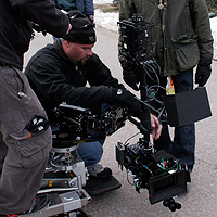 Cougar Hunting dolly steadicam combo